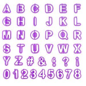 Formar Alfabetet / Bokstäver + Siffror 40 delar