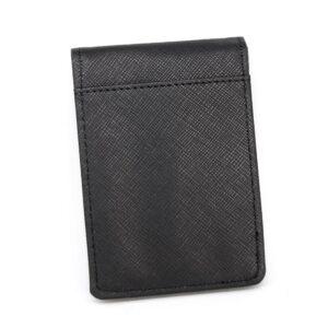 Korthållare m money clip / sedelklämma - Svart