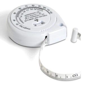 Fitness måttband för mäta kropp / fett + BMI