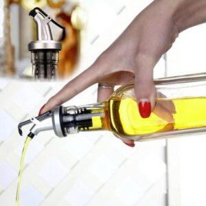 Droppkork till olja 2-pack - Silver eller Guld