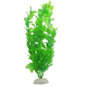 Grön akvarieväxt konstgjord 26 cm