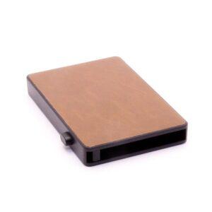 Kortfodral / Korthållare Card Case Pop Up Leather - Brun