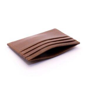 Korthållare Slim Business Äkta läder - Flera färger