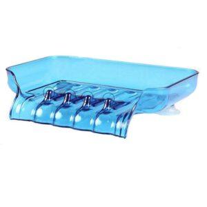 Tvålhållare i plast med avrinning o sugproppar